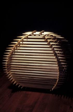 sculpture in wood sharp